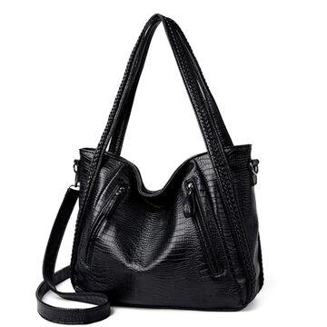Женская сумка, черная П3080