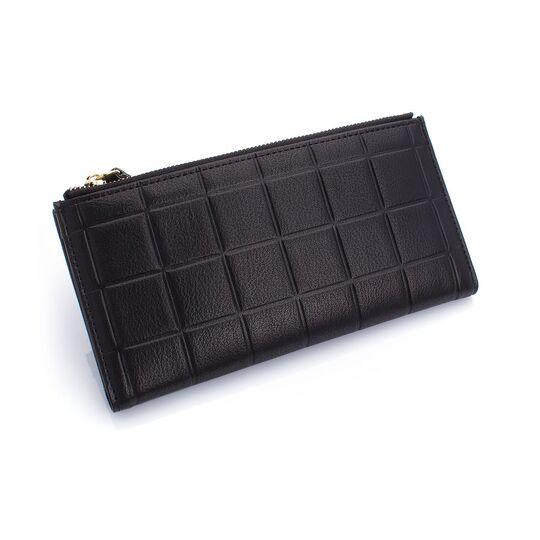 Женские кошельки - Женский кошелек, черный П0209