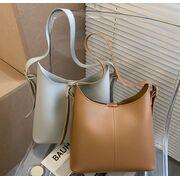 Женские сумки - Женская сумка+косметичка, серая П3086