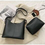 Женские сумки - Женская сумка+косметичка, белая П3087