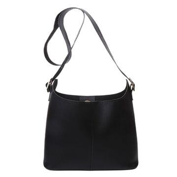 Женская сумка+косметичка, черная П3088