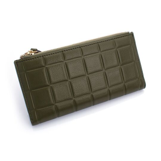 Женские кошельки - Женский кошелек, зеленый П0210