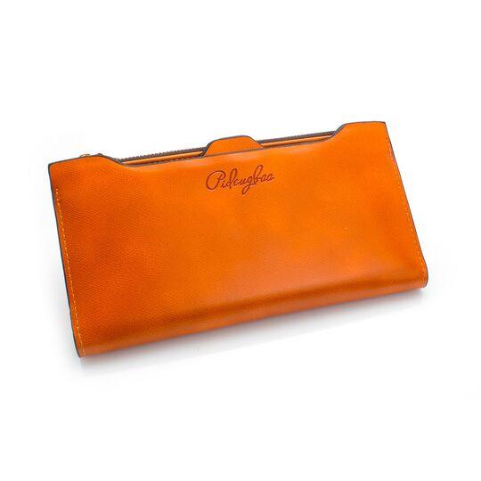 Женские кошельки - Женский кошелек, оранжевый П0211