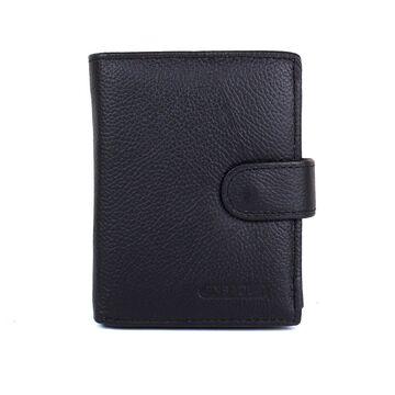 Мужской кошелек, черный П3107