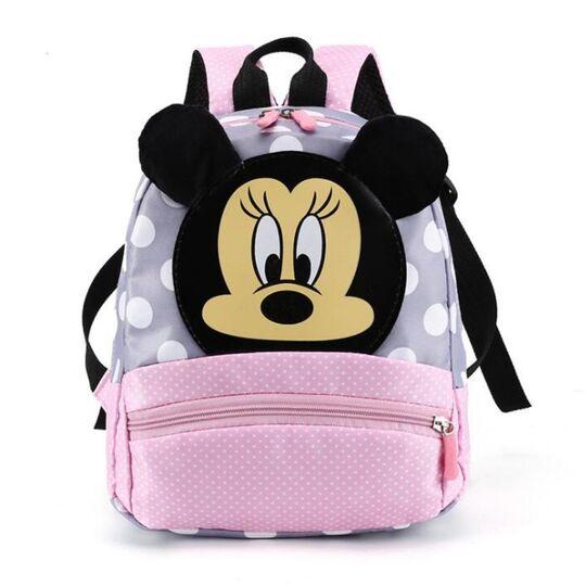 "Детские рюкзаки - Детский рюкзак ""Микки Маус"", розовый П3136"