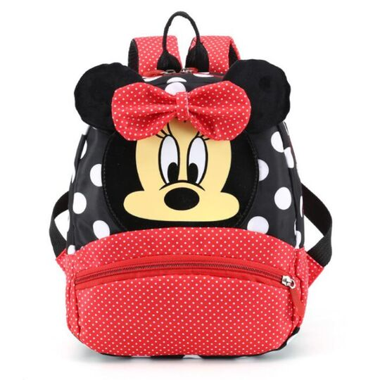 """Детские рюкзаки - Детский рюкзак """"Минни Маус"""", красный П3137"""