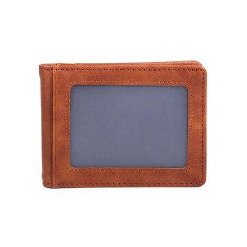 Зажим, кошелек коричневый П3139