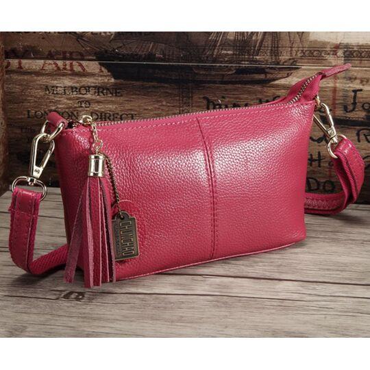 Женская сумка, розовая П3146