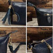 Женская сумка, синяя П3147