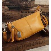 Женская сумка, желтая П3148