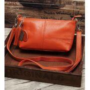 Женская сумка, оранжевая П3149