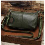 Женская сумка, зеленая П3150