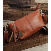 Женская сумка, коричневая П3151