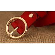Ремень женский DWTS, красный П3155