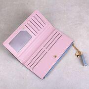 Женский кошелек, серый П3159