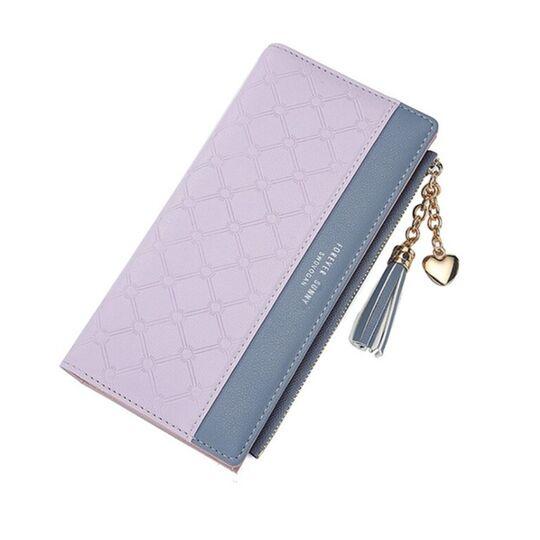 Женский кошелек, фиолетовый П3160