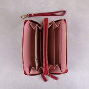 Женский кошелек, красный П3164