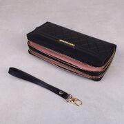 Женский кошелек, черный П3166