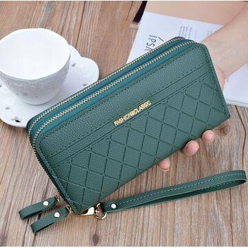 Женский кошелек, зеленый П3167