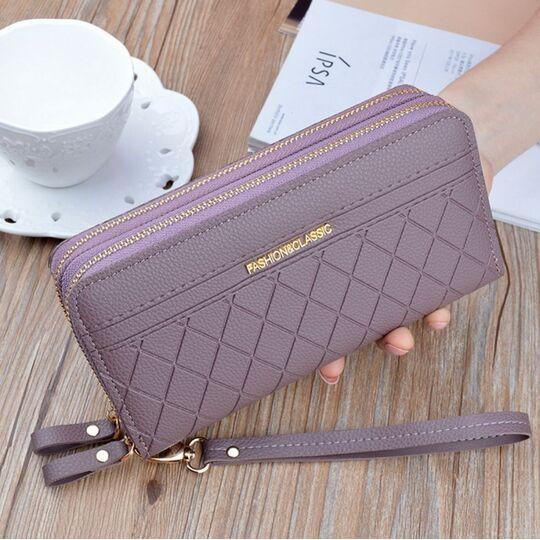 Женский кошелек, фиолетовый П3168