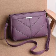 Женская сумка клатч, фиолетовая П3169