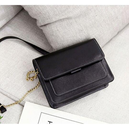 Женская сумка, черная П3173