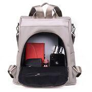Рюкзак женский, серый П3178