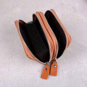 Женский мини кошелек, коричневый П3184