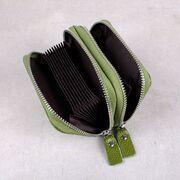 Женский мини кошелек, зеленый П3185