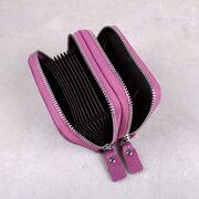 Женский мини кошелек, фиолетовый П3187