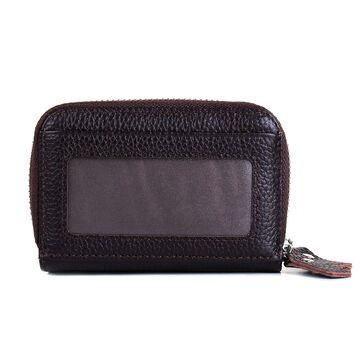 Женский мини кошелек, коричневый П3188