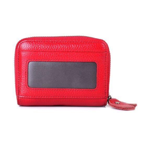 Женский мини кошелек, красный П3189