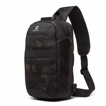 Мужская сумка слинг OZUKO, камуфляж П3197