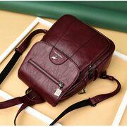 Женский рюкзак, красный П3200