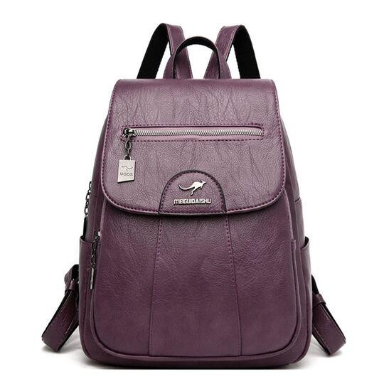 Женский рюкзак, фиолетовый П3201