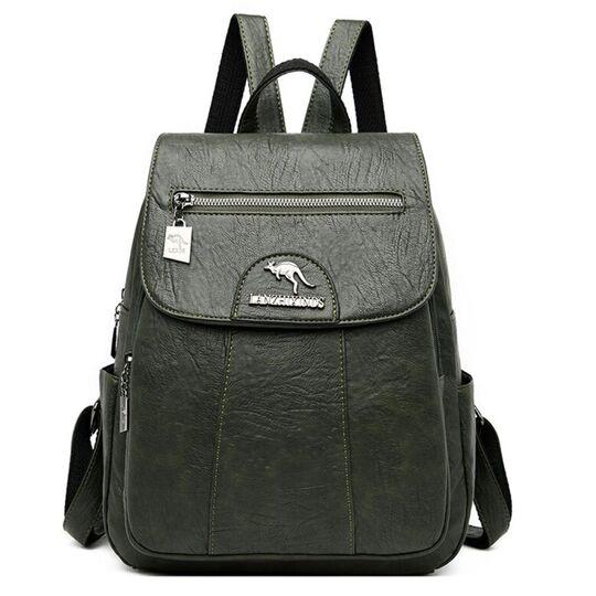 Женский рюкзак, зеленый П3202