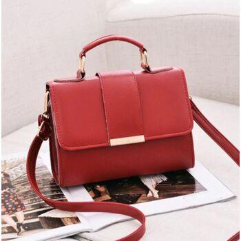 Женская сумка, красная 0223