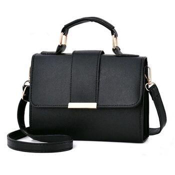 Женская сумка, черная 0224