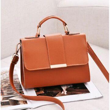 Женская сумка, коричневая П0225