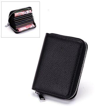 Мини кошелек, черный П3248