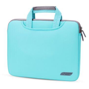 Сумка для ноутбука, голубая П3263