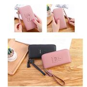 Женский кошелек, розовый П3265
