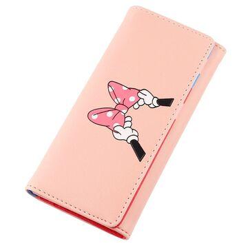 """Женский кошелек """"Минни Маус"""", розовый П3275"""