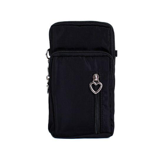 Женская сумка клатч, черная П3287