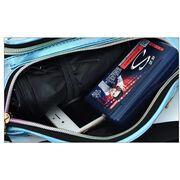 Женская поясная сумка, бананка, белая П3296