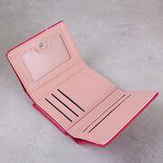 """Женский кошелек """"Микки Маус"""", розовый П3301"""