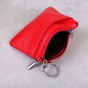 Мини кошелек, красный П3312