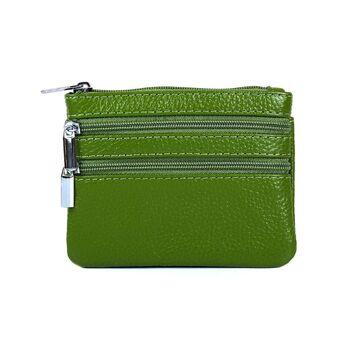 Мини кошелек, зеленый П3314