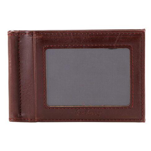 Мужские кошельки - Зажим, кошелек коричневый 0233
