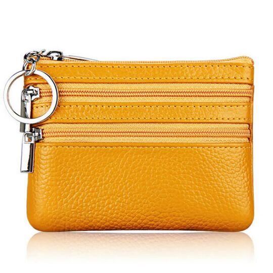 Мини кошелек, желтый П3315